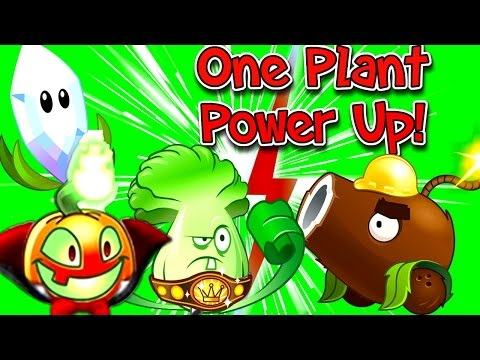 Plants vs. Zombies 2 New Edition: One Plant Power Up Vs Zombies
