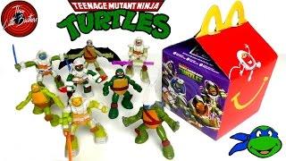 ЧЕРЕПАШКИ НИНДЗЯ новые ИГРУШКИ в Хеппи АВГУСТ 2017 Мил макдональдс teenage mutant ninja turtles