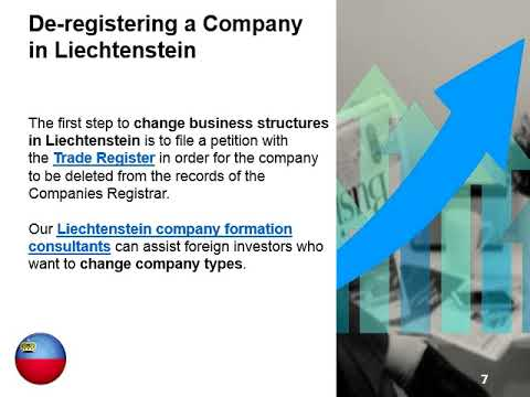 Changing the Company Type in Liechtenstein