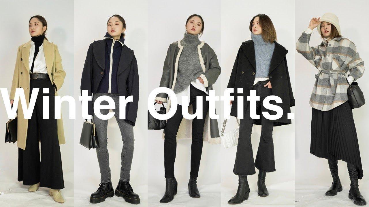 [VIDEO] - 冬季穿搭灵感 / Winter Outfit Ideas / 叠穿与室内外转换 / ninido 2