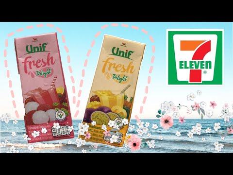 ใหม่!! น้ำผักผลไม้ Unif Fresh - เซเว่น