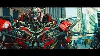 Transformers : Dark of the Moon sentinel prime kills ironhide (1080HD VF)