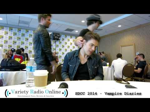 Paul Wesley (Stefan Salvatore) - The Vampire Diaries - Comic Con 2014 Interview