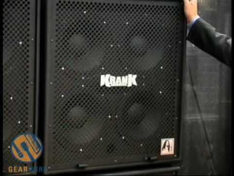 Krank Krankenstein 4x12 Speaker Cabinet Youtube