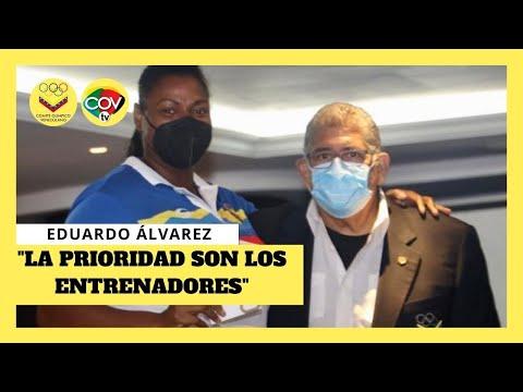 🇻🇪 Eduardo Álvarez ofrece detalles de la Delegación Olímpica de Venezuela 🇻🇪