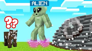 DESTROYING MINECRAFT As An ALIEN! (Creepy)