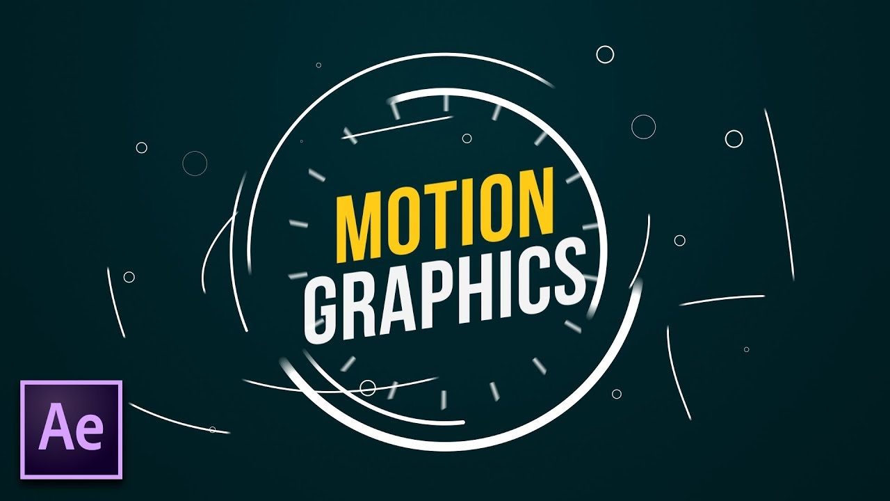 Motion graphics as it relates to the Adobe software