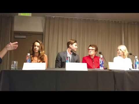Battle of the Sex Press Junket part 1