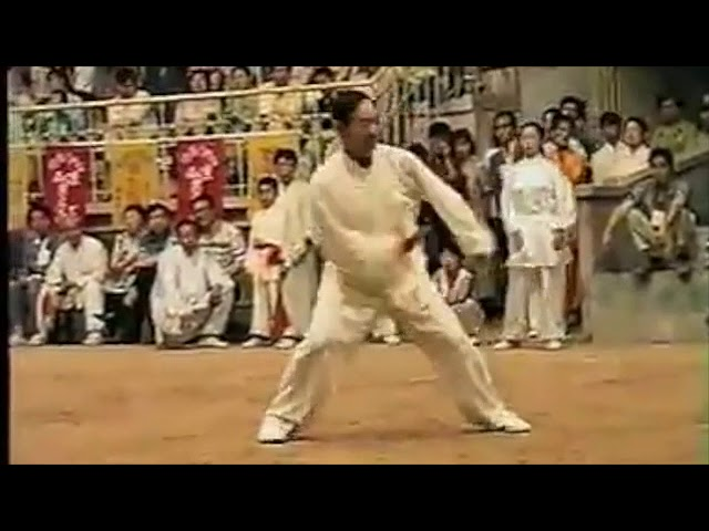 Chen Shui Fu - Tai Chi style Chen Xiaojia (Xi'An) Yilu - 1999