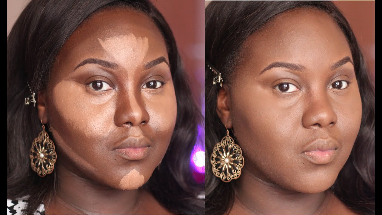 Highlight and Contour | Dark Skin | Updated Routine | Chanel ...