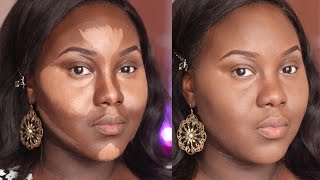 Highlight and Contour | Dark Skin | Updated Routine | Chanel Boateng Thumbnail
