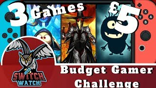 3 Games for £5 Budget Gamer Challenge #1: Mecho Tales, Plague Road & Bouncy Bob