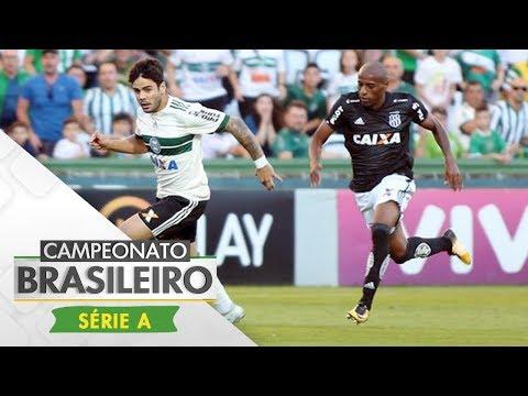 Melhores Momentos - Coritiba 1 x 1 Ponte Preta - Campeonato Brasileiro (12/11/2017)
