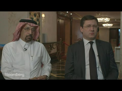 Al-Falih and Novak on OPEC Production Cuts, Oil Prices, Shale