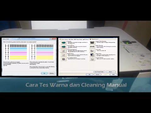 Cara isi tinta warna hitam pada printer canon MP287 dengan mudah dan aman - Video ini menjelaskan te.