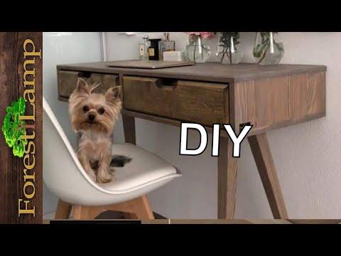 Мебель по необычной технологии в спальню .Как сделать бюджетную  мебель.  сделай сам.