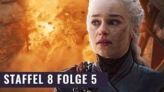 Die Rache der Mad Queen | Game of Thrones Staffel 8 Folge 5