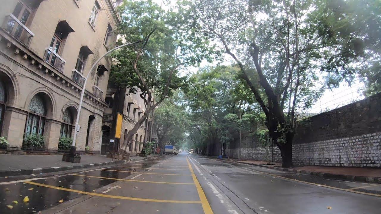morning drive - ballard estate | mumbai port trust | mumbai 2018 [4k