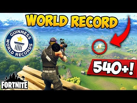 World Record Rpg Snipe 540m Fortnite Funny Fails And Wtf Moments