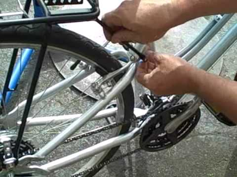 Biria Adjustable Rear Bike Rack Installation Youtube
