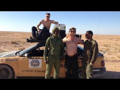 The Dakar Challenge 2014 Black Bourton to West Africa through the Sahara Desert
