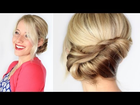 twisted-chignon