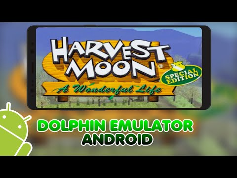 Harvest Moon: A Wonderful Life   Dolphin Emulator Android (MMJ)   Setting + Link Download