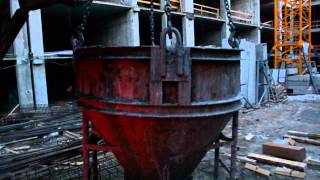 видео Товарный бетон в Кировске.