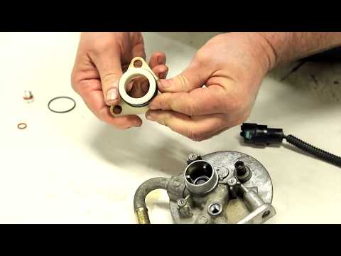 duramax diesel fuel filter head rebuild how to by merchant automotive -  youtube