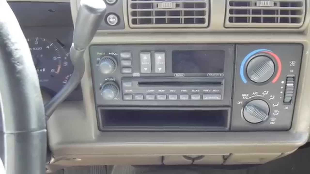 Watch on 2000 chevy blazer 4x4