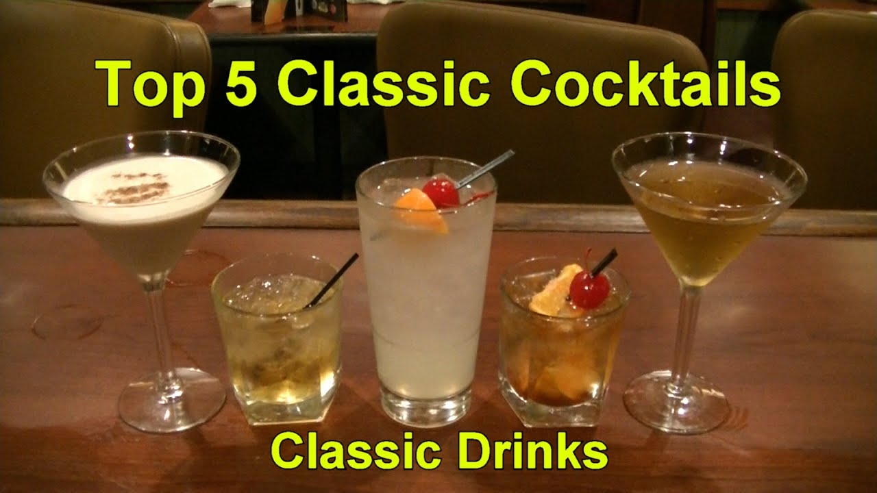 Top 5 Cocktail Drinks