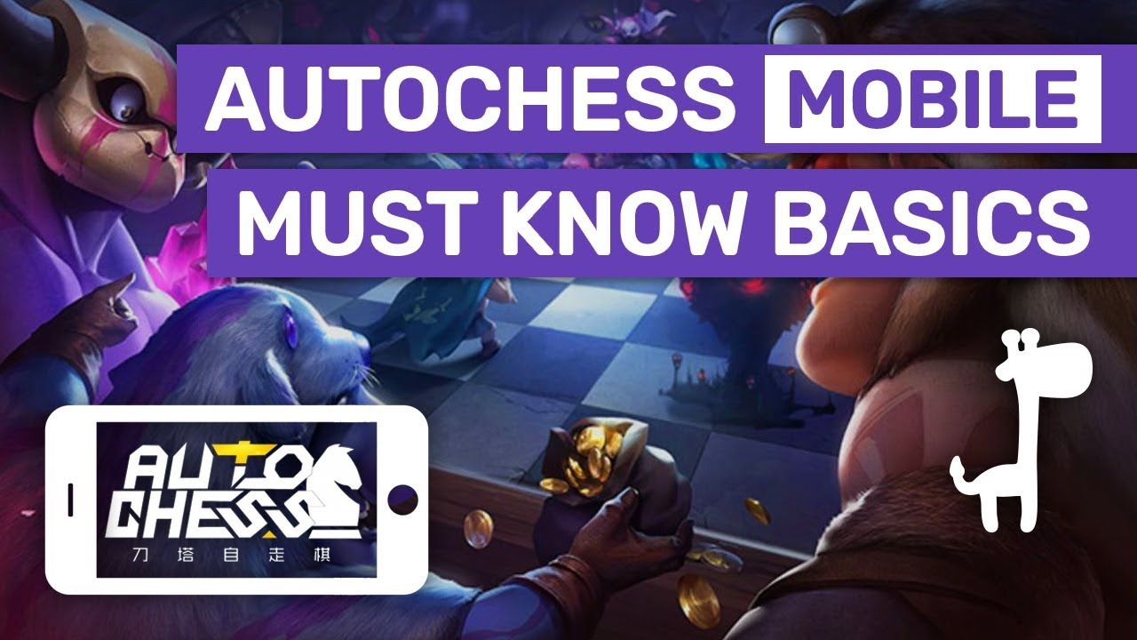Auto Chess Mobile - MUST KNOW BASICS | Auto Chess Guides, Tips and  Strategies