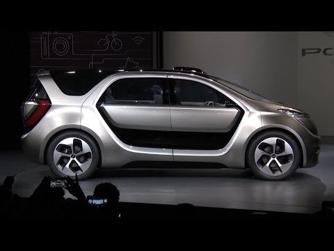 Chrysler Portal Concept: CES 2017 Press Conference (Full)