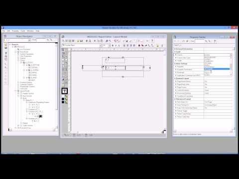 Creating Matrix Report Manually using Developer 6i Reports