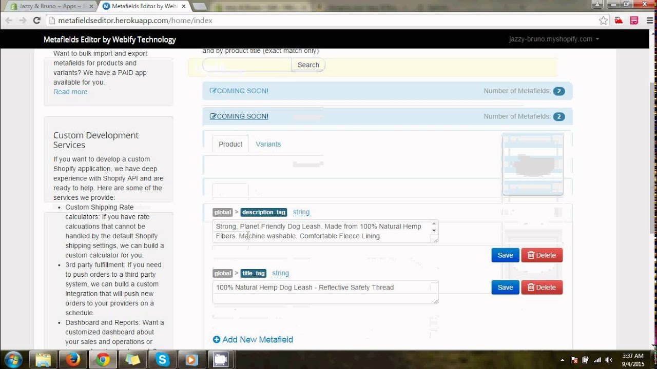 add custom url in shopify - YouTube
