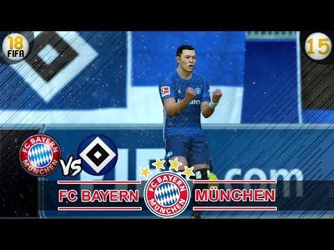 FC Bayern München vs Hamburger SV | Fifa 18 Trainerkarriere #15