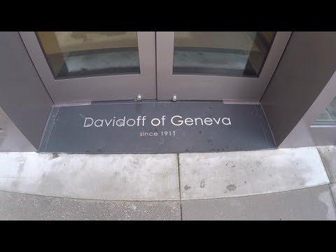 Davidoff of Geneva Visit, Tour and Cigar Review