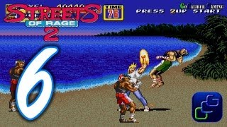 Streets Of Rage 2 Walkthrough - Part 6 - AXEL Stage 6