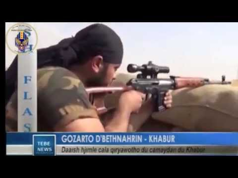 BREAKING NEWS - FLASH TEBO : Khabour villages under attack (in Syriac language)
