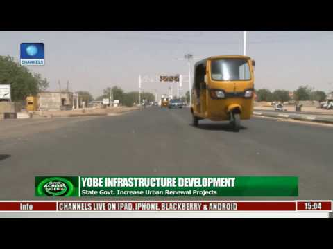 Yobe Government Increases Urban Renewal Projects
