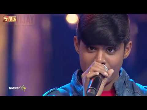 Super Singer Junior - Enna Solla Pogirai By Harikaran