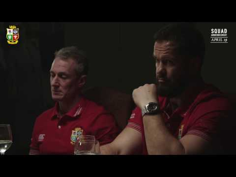 The Coaching Team on their approach to selection | British & Irish Lions