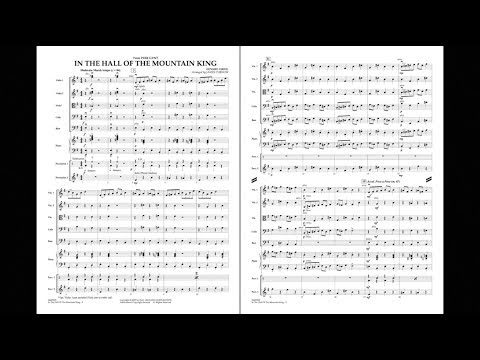 In the Hall of the Mountain King by Edvard Grieg/arr. James Curnow