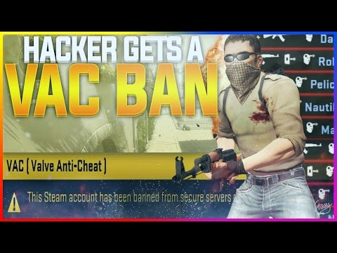 HACKER GETS VAC BANNED! - CS:GO Funny Moments