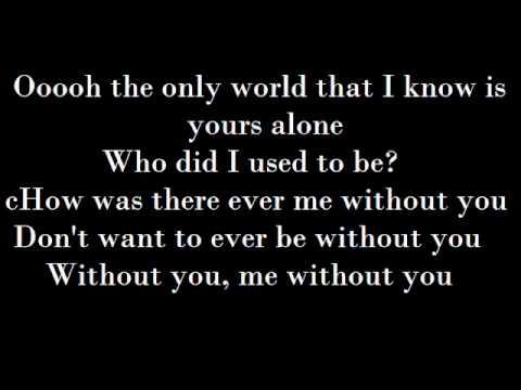 Sam Tsui - Me Without You Lyrics (Lyrics On Screen)