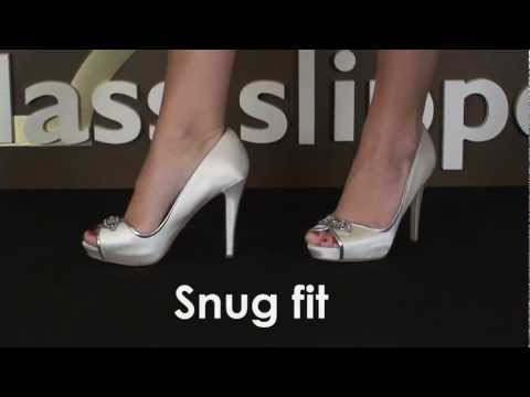 Wedding Shoe Review for Formslag by Badgley Mischka
