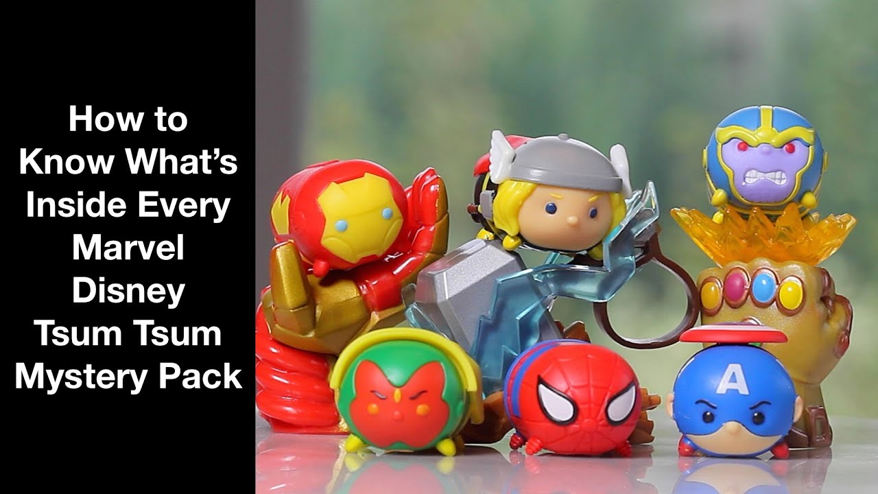 How To Know What S Inside Every Marvel Disney Tsum Tsum