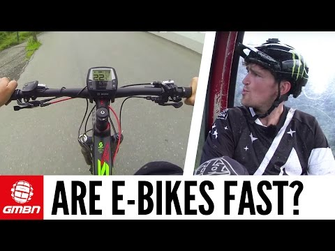 Are E-Bikes Fast? With Brendan Fairclough