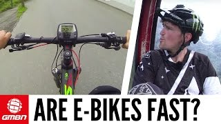 Are E-Bikes Fast? With Brendan Fairclough