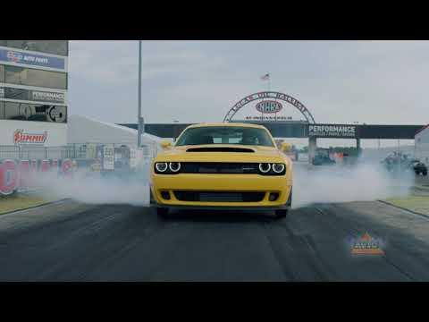 New 840 horsepower 2018 Dodge Challenger SRT Demon